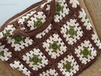 Big Bolsa de Crochê para Praia - Aprendendo Crochê