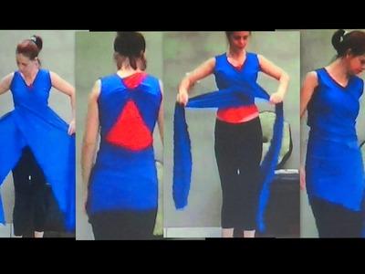 Como fazer 1 Blusa que veste mais de 10 modelos