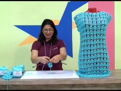 Cristina amaduro - Vestido em tricô