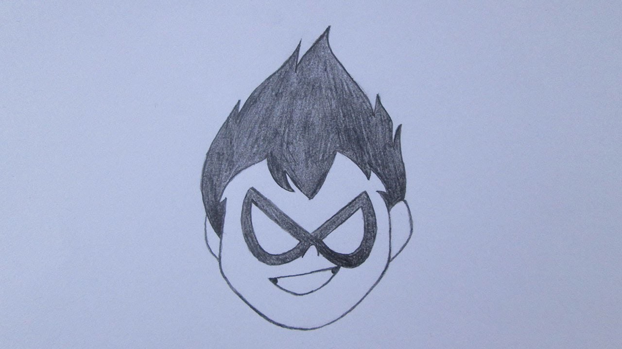 Como Desenhar O Robin De Os Jovens Titas