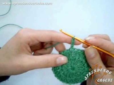 Como fechar a carreira em crochê circular? - Aprendendo Crochê