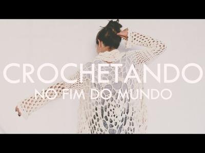 CROCHÊ COM MARIE CASTRO e a maior chuva da casa #vlog43 | por Isa Ribeiro - Na nossa vida