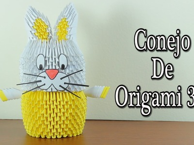 Rabbit. Conejo De Origami 3D TUTORIAL!