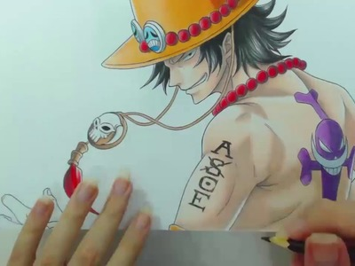 Speed Drawing - Portgas D. Ace (One Piece)
