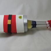Porta garrafas  reciclado